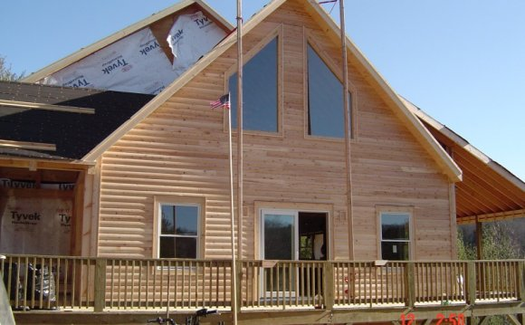 Building Rustic Homes from