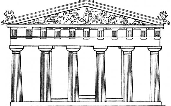 Greek Architecture Clipart
