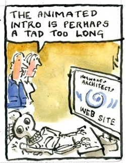 Architect's Websites Suck