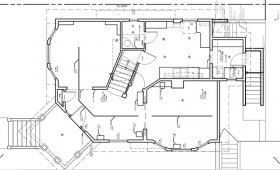 During the As-built measuring phase we measure all aspects of your floor plan to create a blank slate to work off of. We include copious notes for all aspects of the house so we can ensure accuracy.