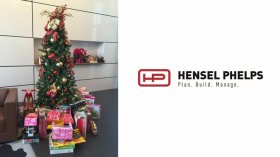 Hensel Phelps Supports Brown Santa Program