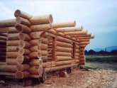 Log Homes construction