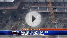 2 hurt in construction incident in Somerville