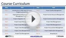 Project Management Live Online Training Demo session