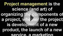 what is project management | project management training